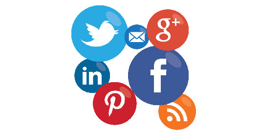using social media to boost career